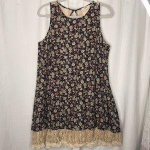 ODDY Floral Lace Dress Size Medium